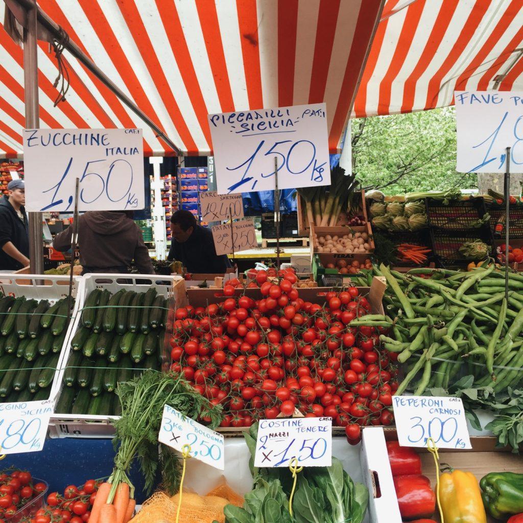 Milan market